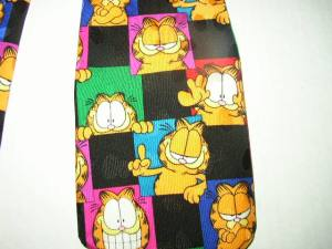Garfield the Cat Necktie