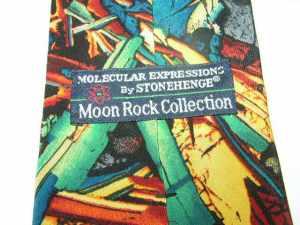 Moonrocks Apollo 11 Tie